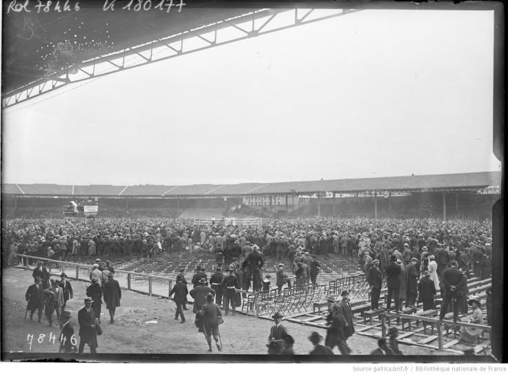 Stade-vélodrome Buffalo à Montrouge, le 24 septembre 1922